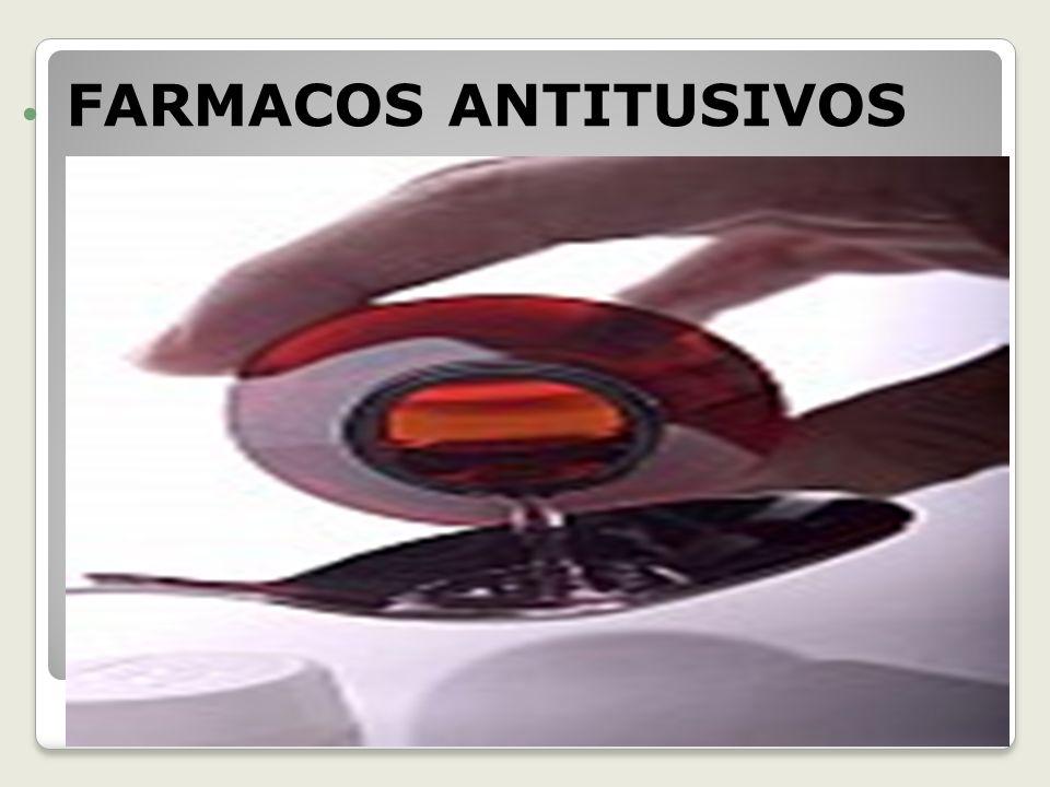 FARMACOS ANTITUSIVOS