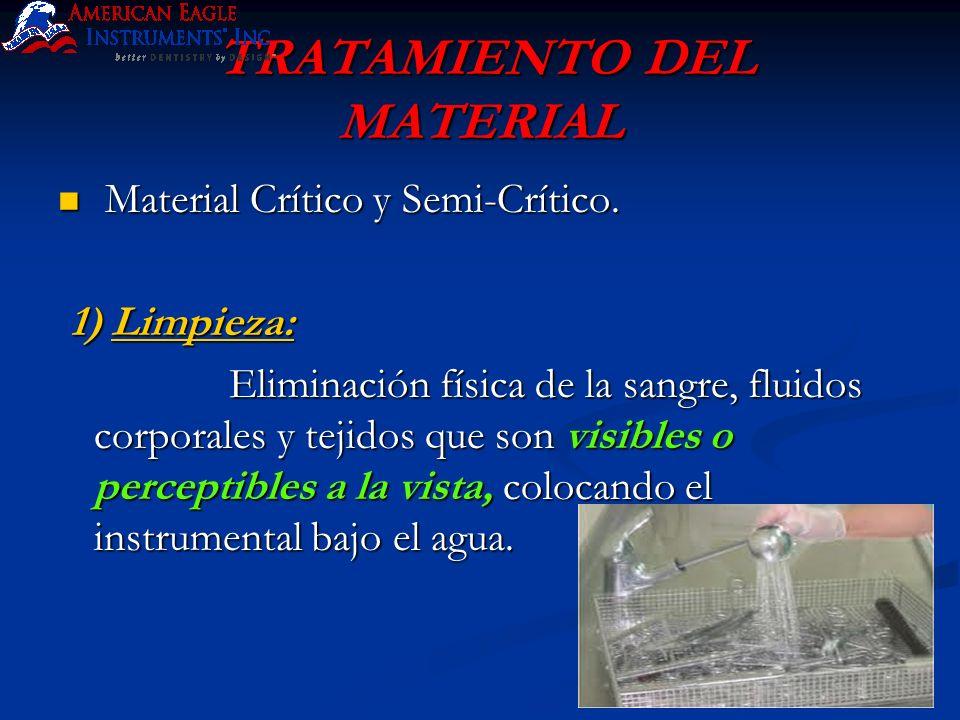 TRATAMIENTO DEL MATERIAL
