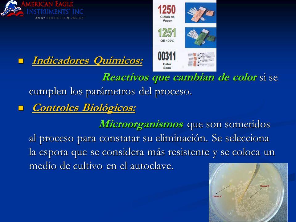 Indicadores Químicos:
