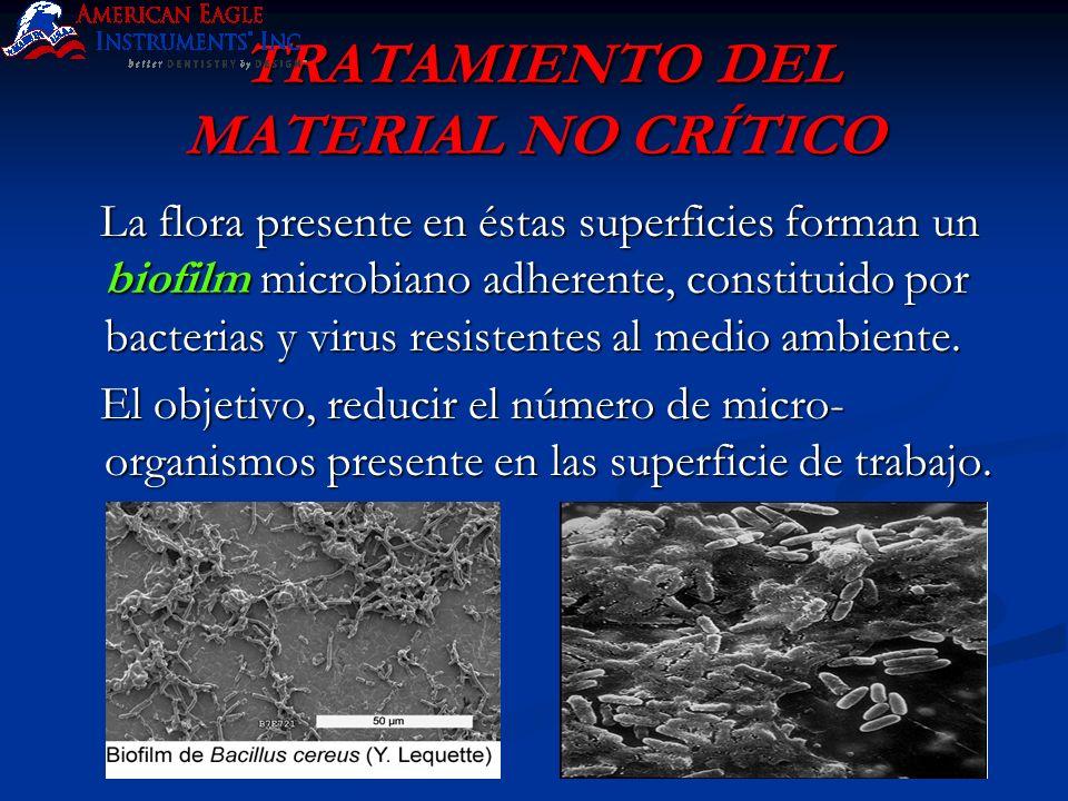 TRATAMIENTO DEL MATERIAL NO CRÍTICO