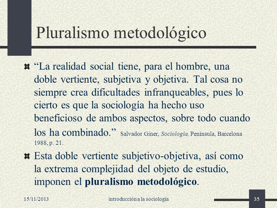 Pluralismo metodológico