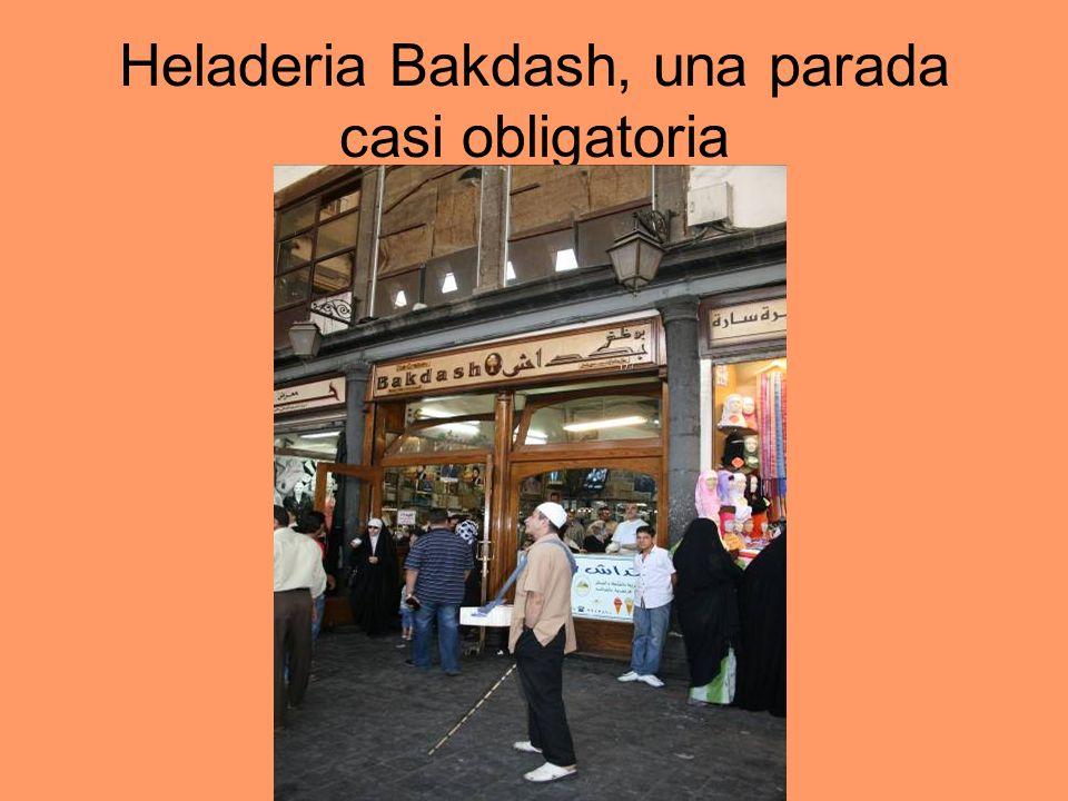 Heladeria Bakdash, una parada casi obligatoria