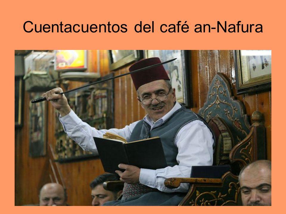 Cuentacuentos del café an-Nafura