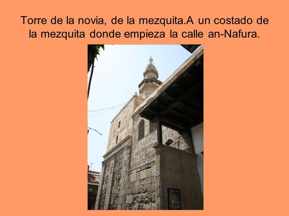 Torre de la novia, de la mezquita