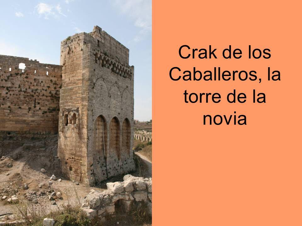 Crak de los Caballeros, la torre de la novia
