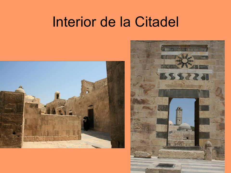Interior de la Citadel