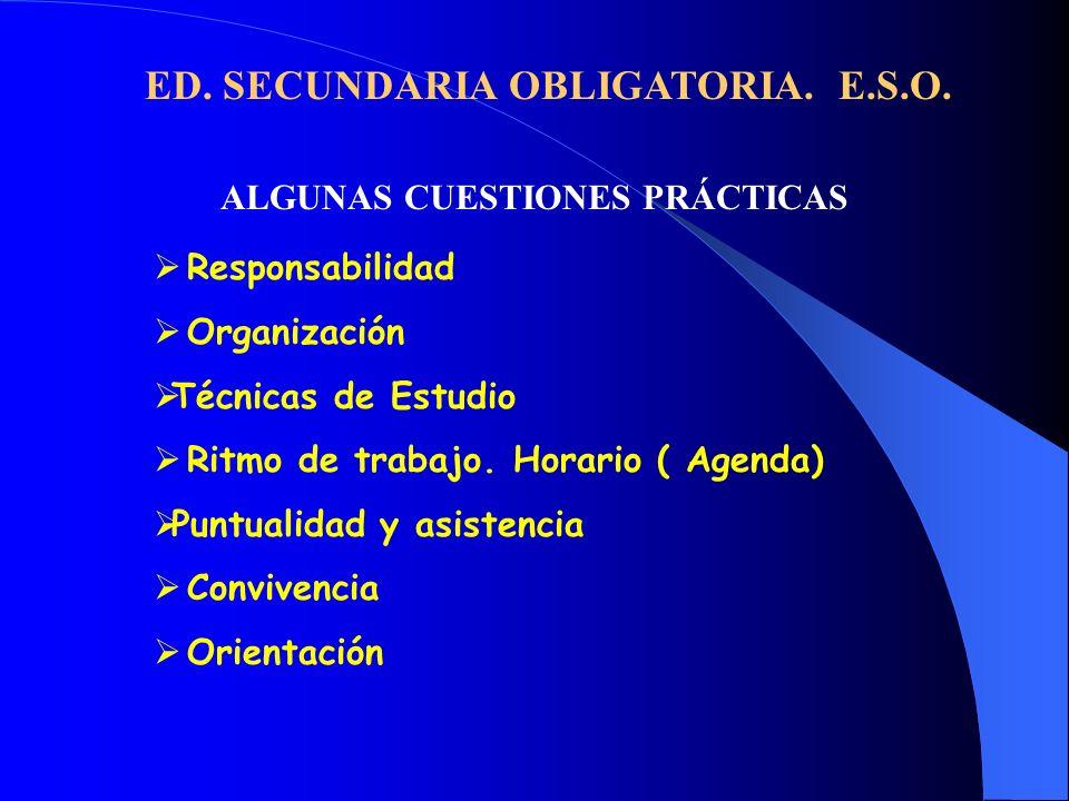 ALGUNAS CUESTIONES PRÁCTICAS