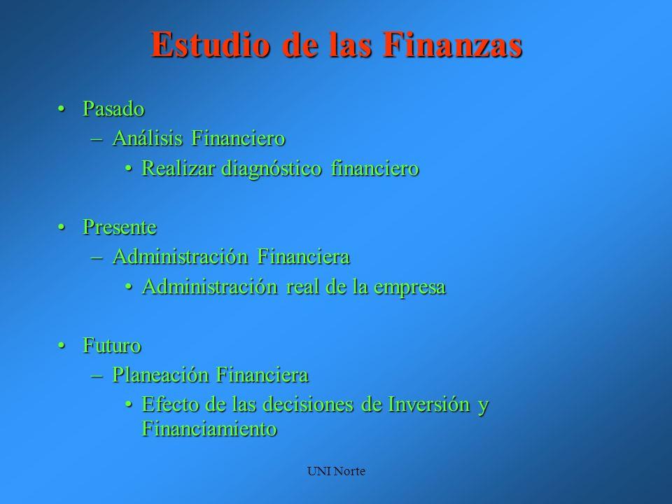 Estudio de las Finanzas