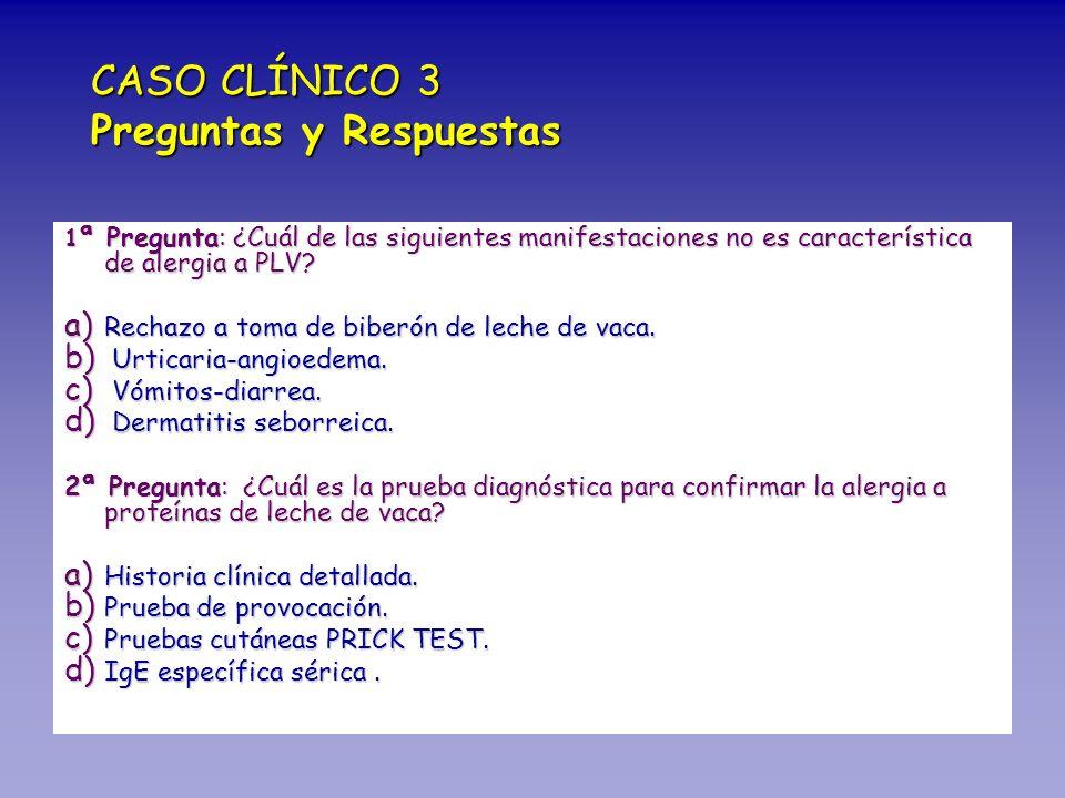 CASO CLÍNICO 3 Preguntas y Respuestas