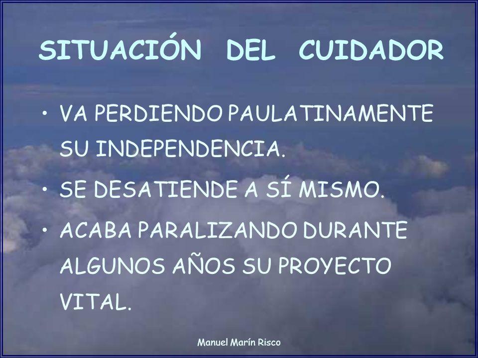 SITUACIÓN DEL CUIDADOR