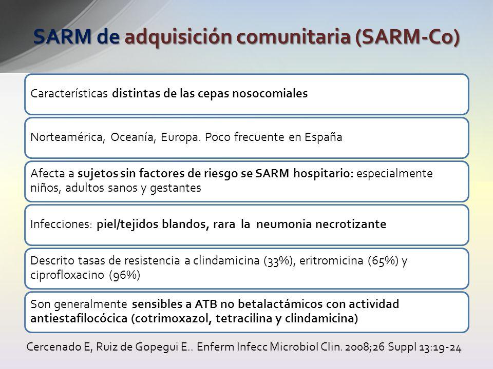 SARM de adquisición comunitaria (SARM-Co)
