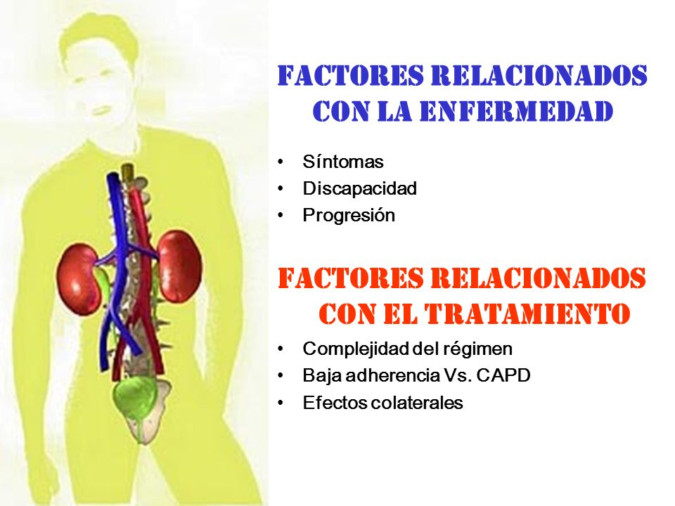 FACTORES RELACIONADOS CON LA ENFERMEDAD
