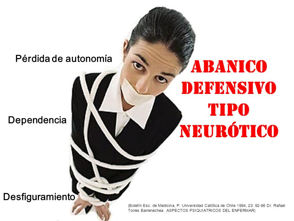 ABANICO DEFENSIVO TIPO NEURÓTICO