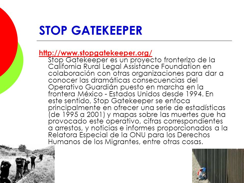 STOP GATEKEEPER