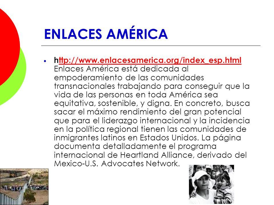 ENLACES AMÉRICA