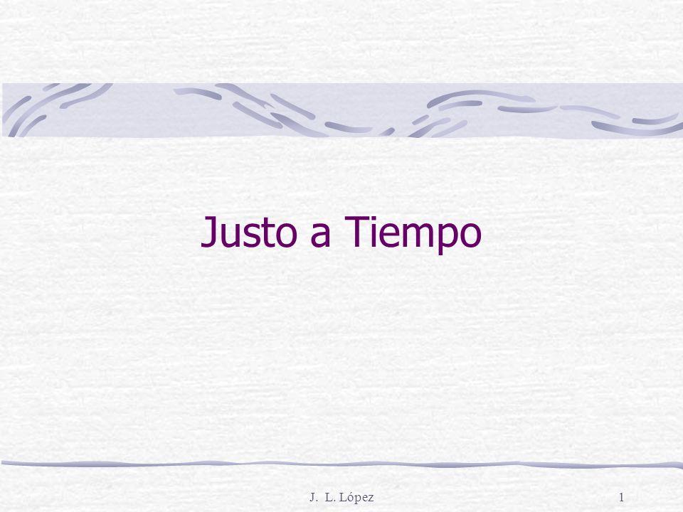 Justo a Tiempo J. L. López