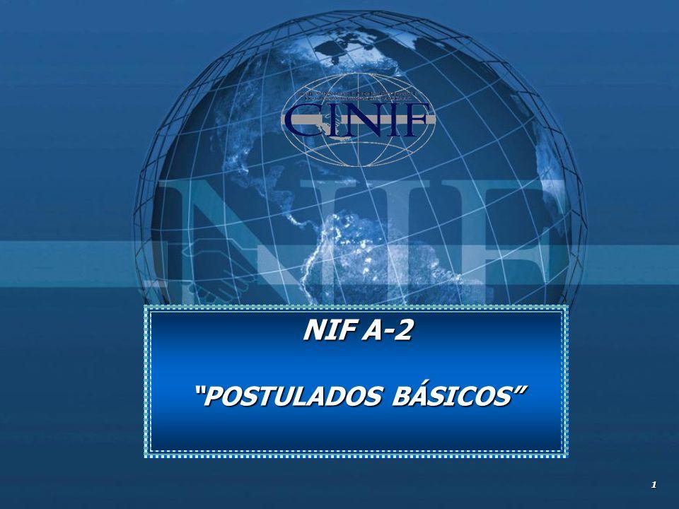 NIF A-2 POSTULADOS BÁSICOS