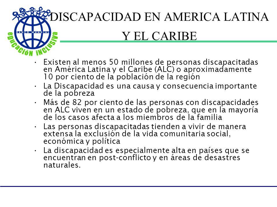DISCAPACIDAD EN AMERICA LATINA Y EL CARIBE