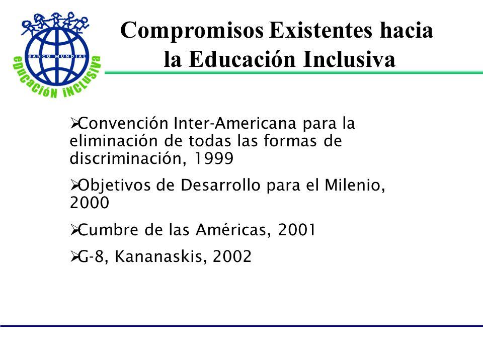 Compromisos Existentes hacia la Educación Inclusiva