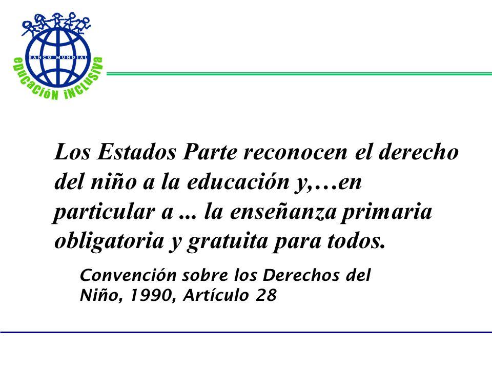 Convención sobre los Derechos del Niño, 1990, Artículo 28