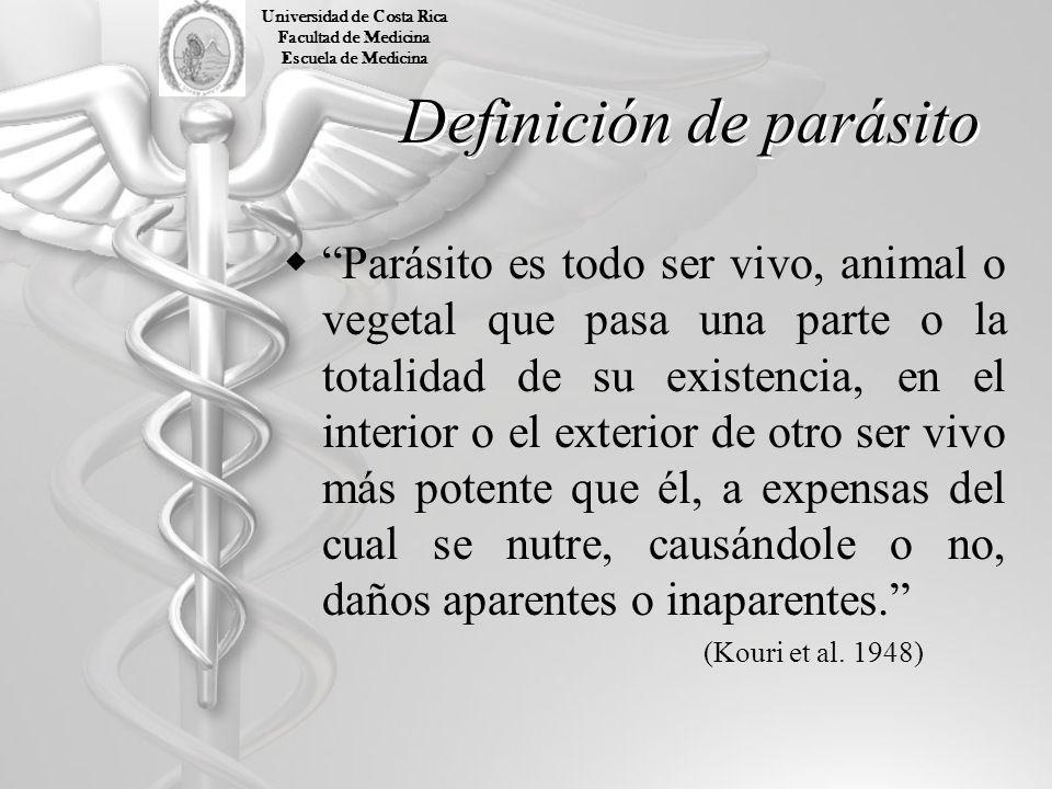 Definición de parásito