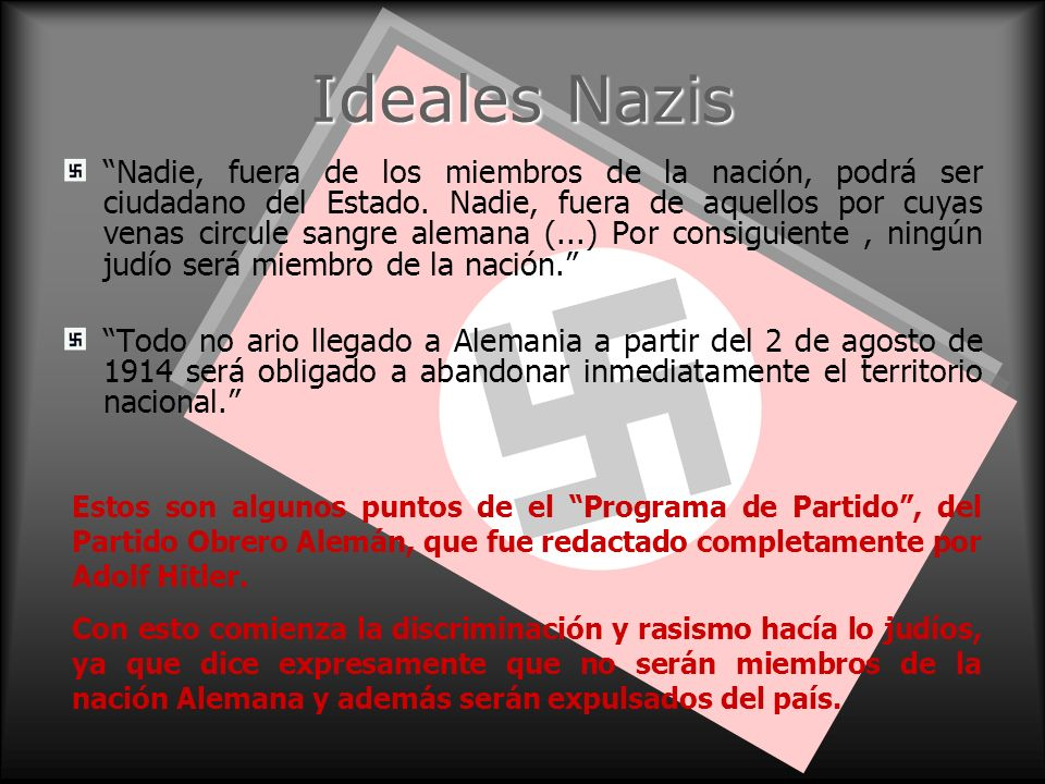 Ideales Nazis