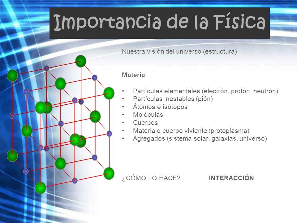 Importancia de la Física