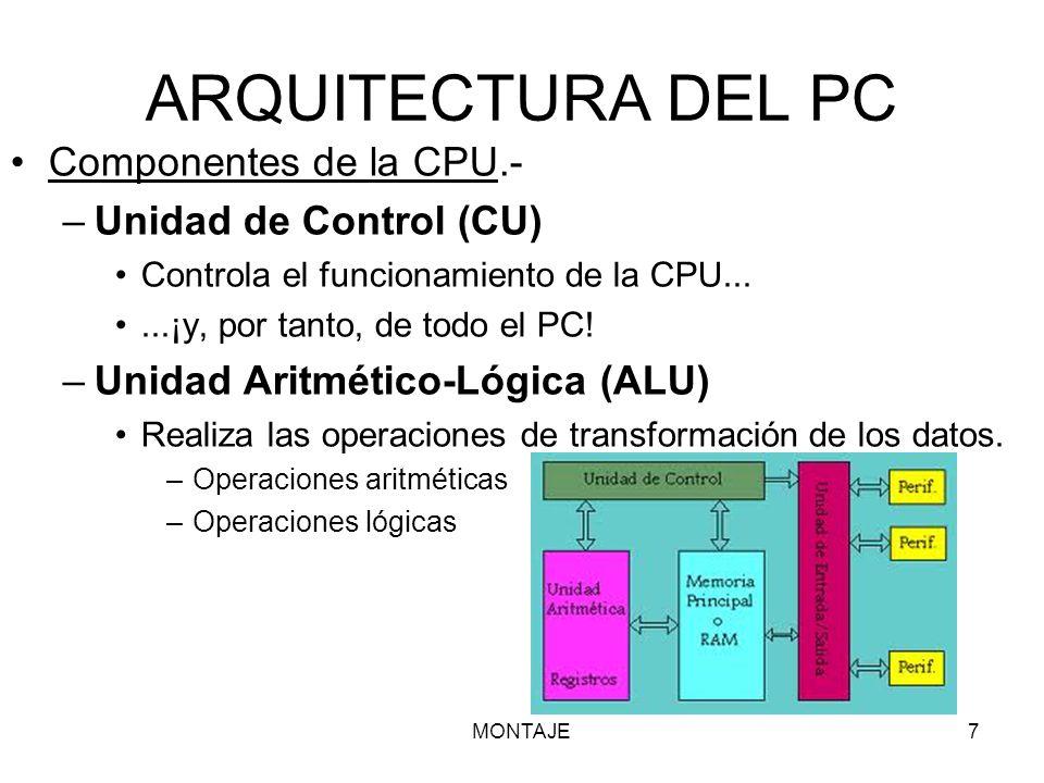 Arquitectura Y Componentes Internos Del Pc Ppt Descargar