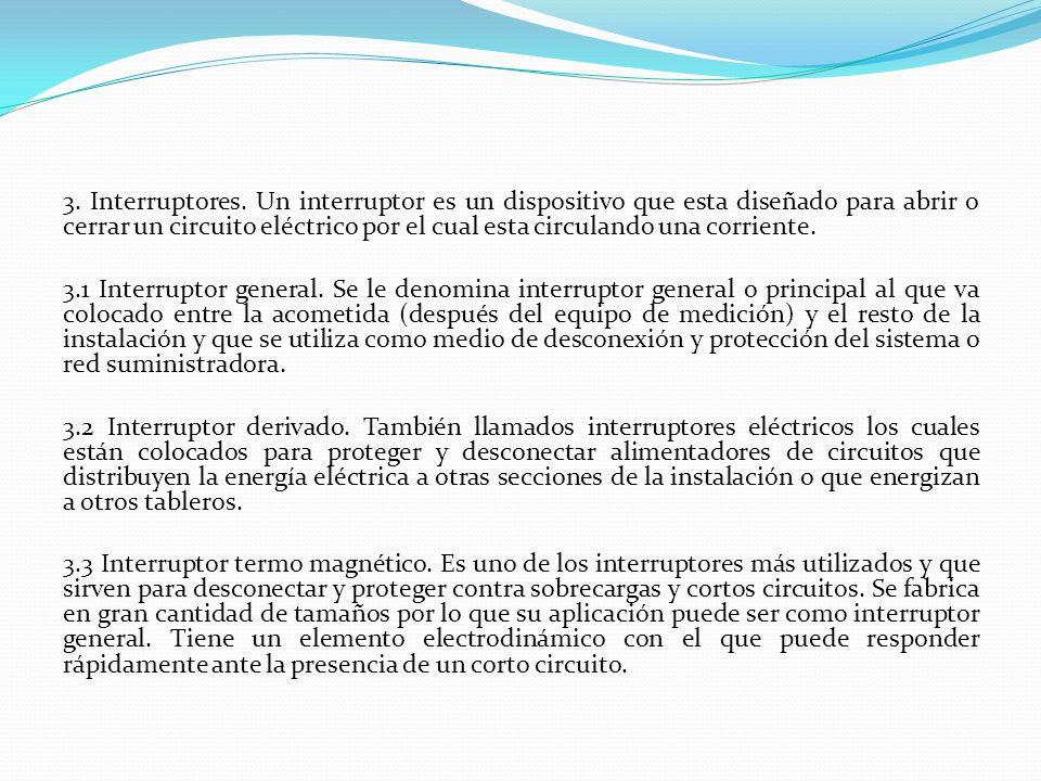 3. Interruptores.