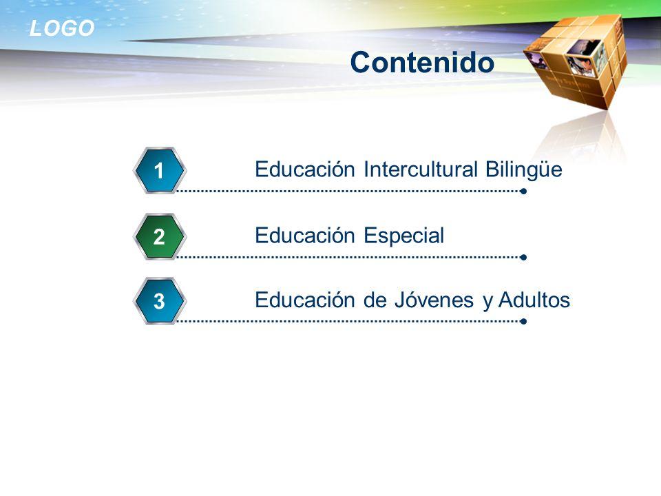 Contenido 1 Educación Intercultural Bilingüe 2 Educación Especial 3