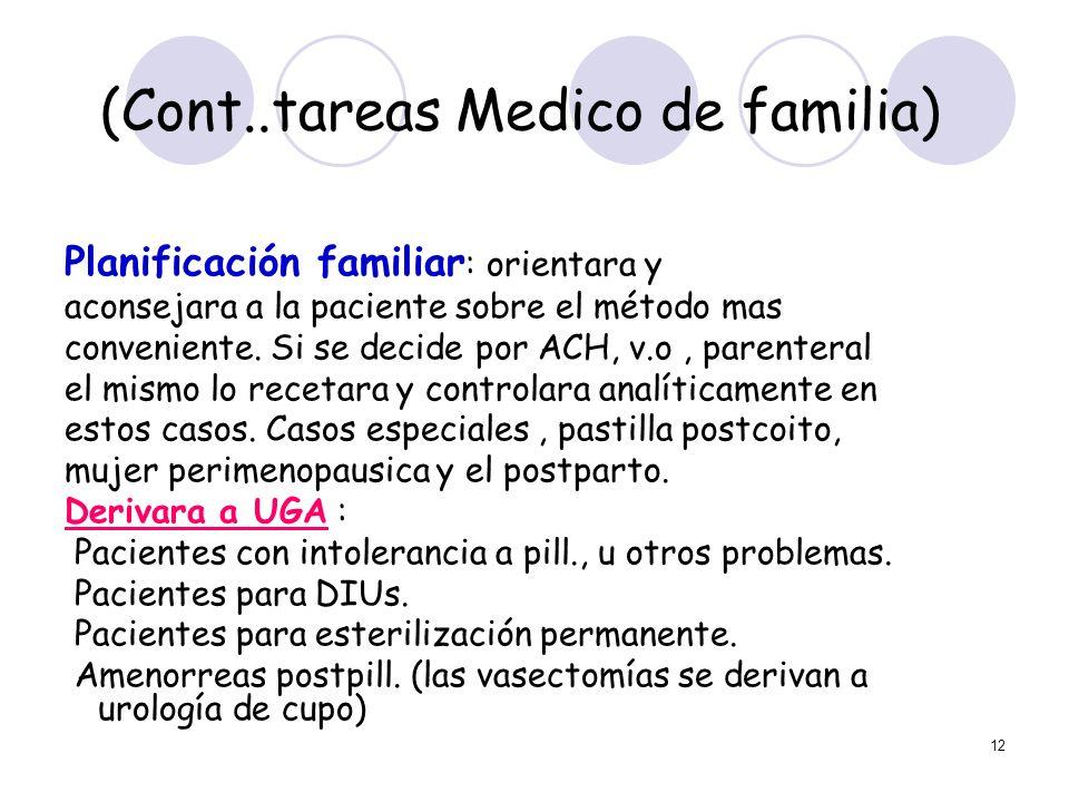 (Cont..tareas Medico de familia)