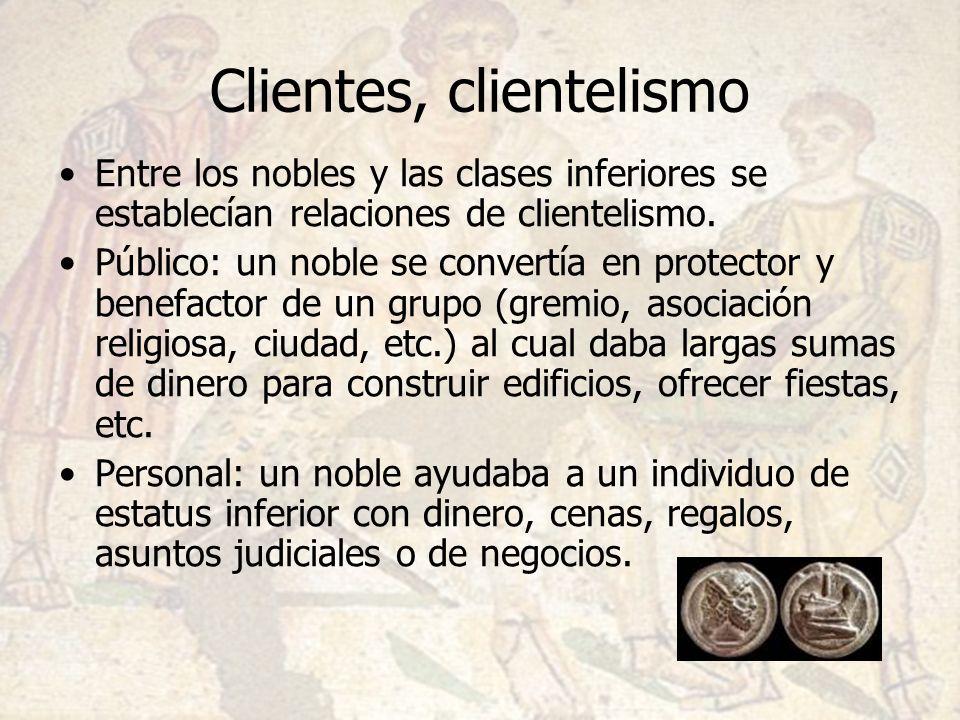 Clientes, clientelismo