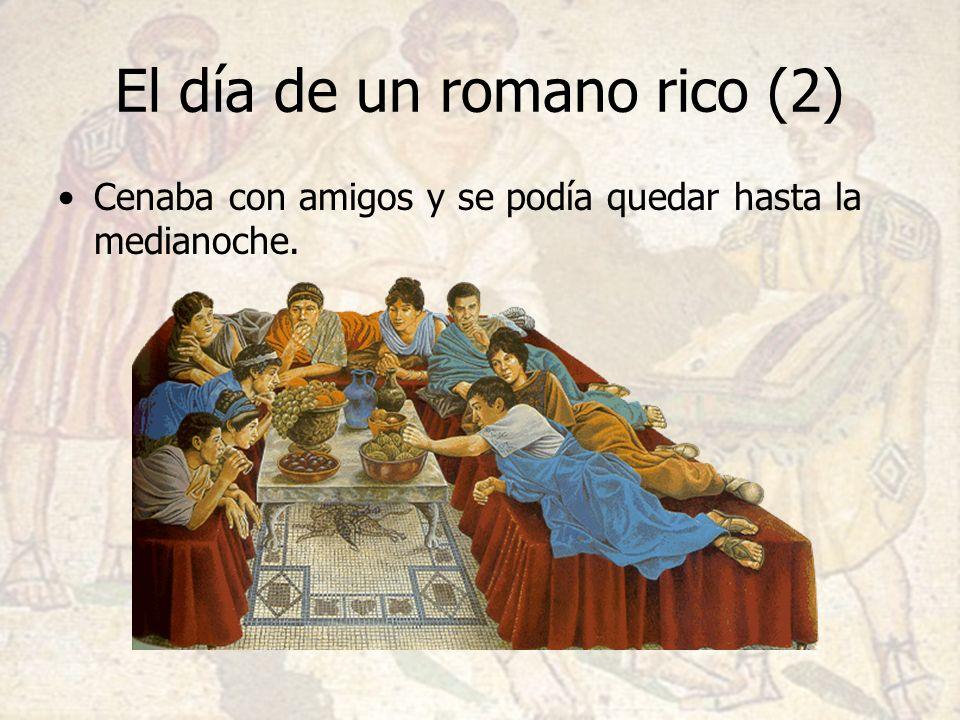 El día de un romano rico (2)