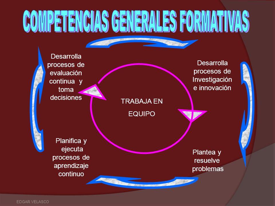 COMPETENCIAS GENERALES FORMATIVAS