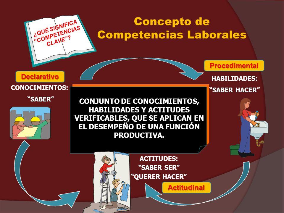 Concepto de Competencias Laborales