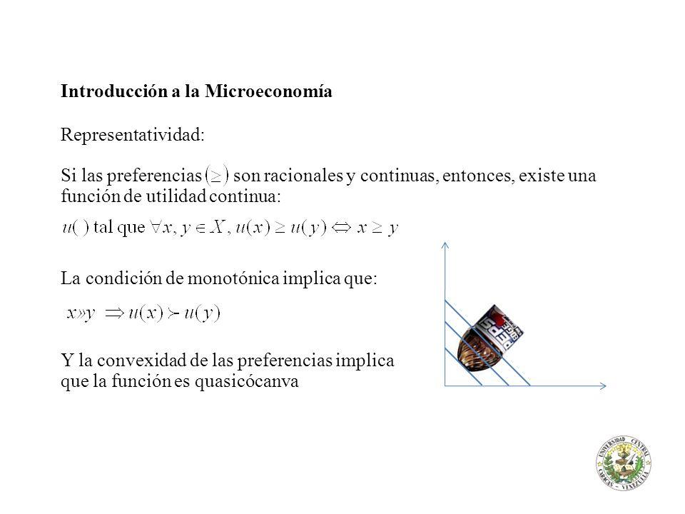 Introducción a la Microeconomía