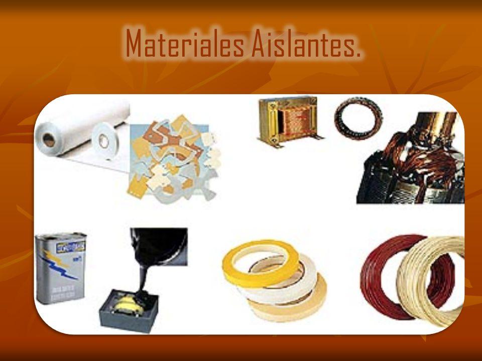 Materiales aislantes ppt descargar - El material aislante ...