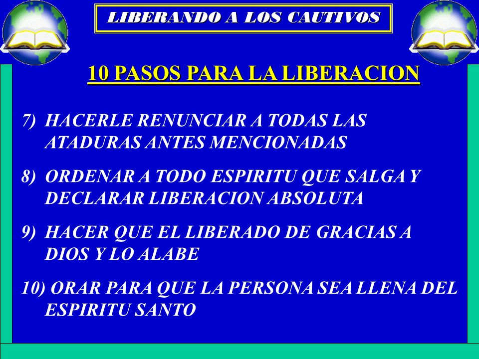 10 PASOS PARA LA LIBERACION