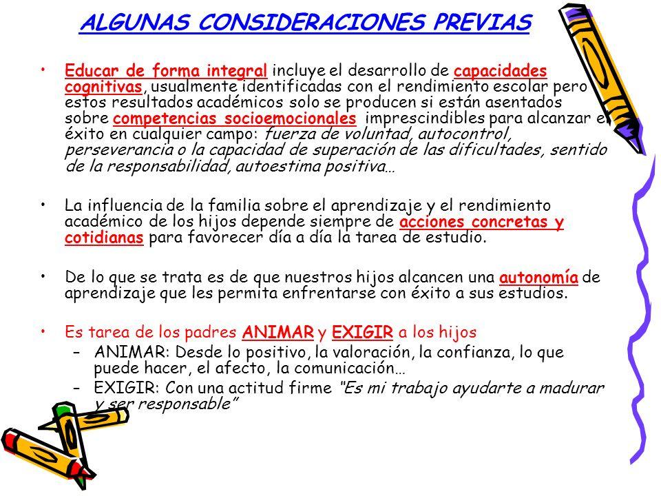 ALGUNAS CONSIDERACIONES PREVIAS