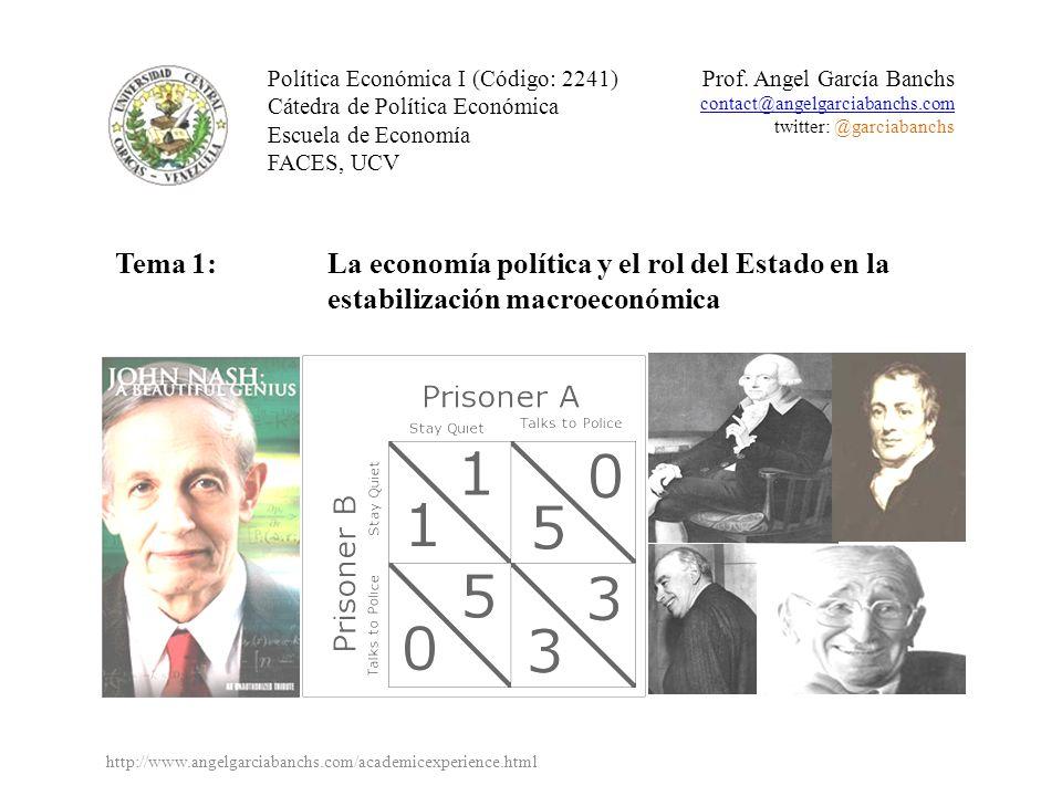 Política Económica I (Código: 2241)