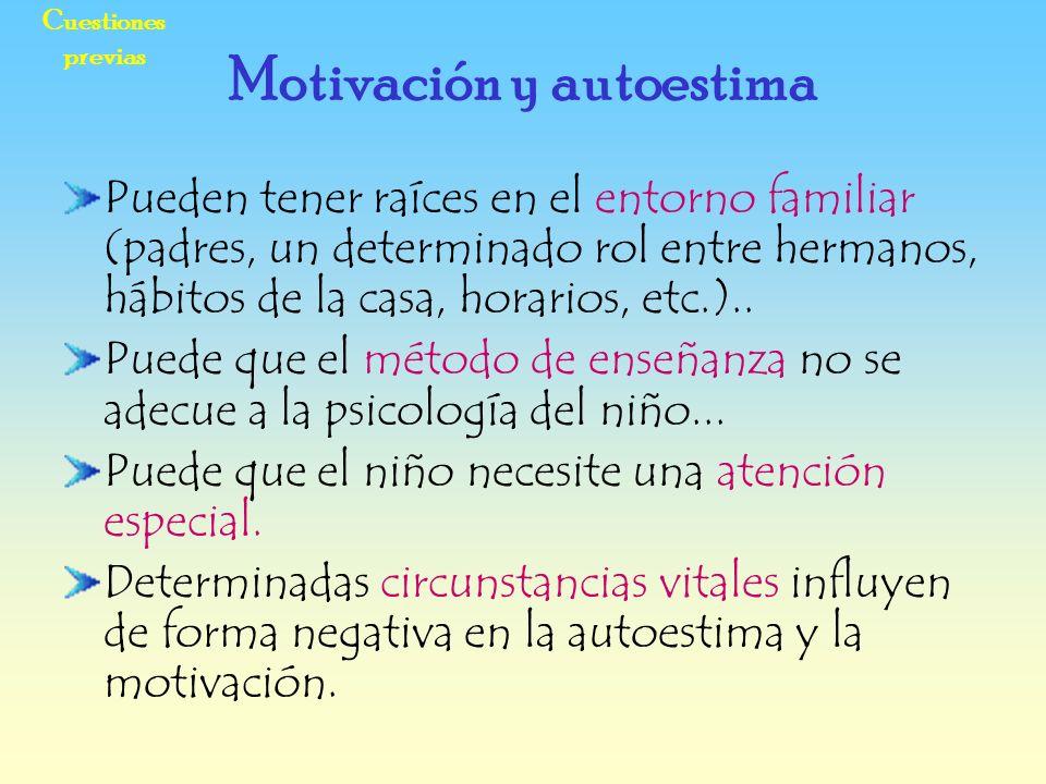 Motivación y autoestima