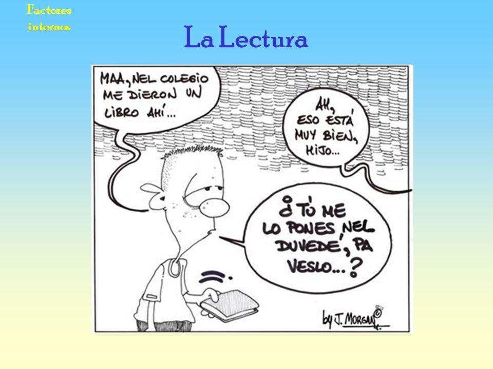 Factores internos La Lectura