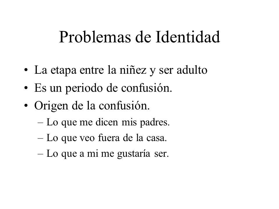 Problemas de Identidad