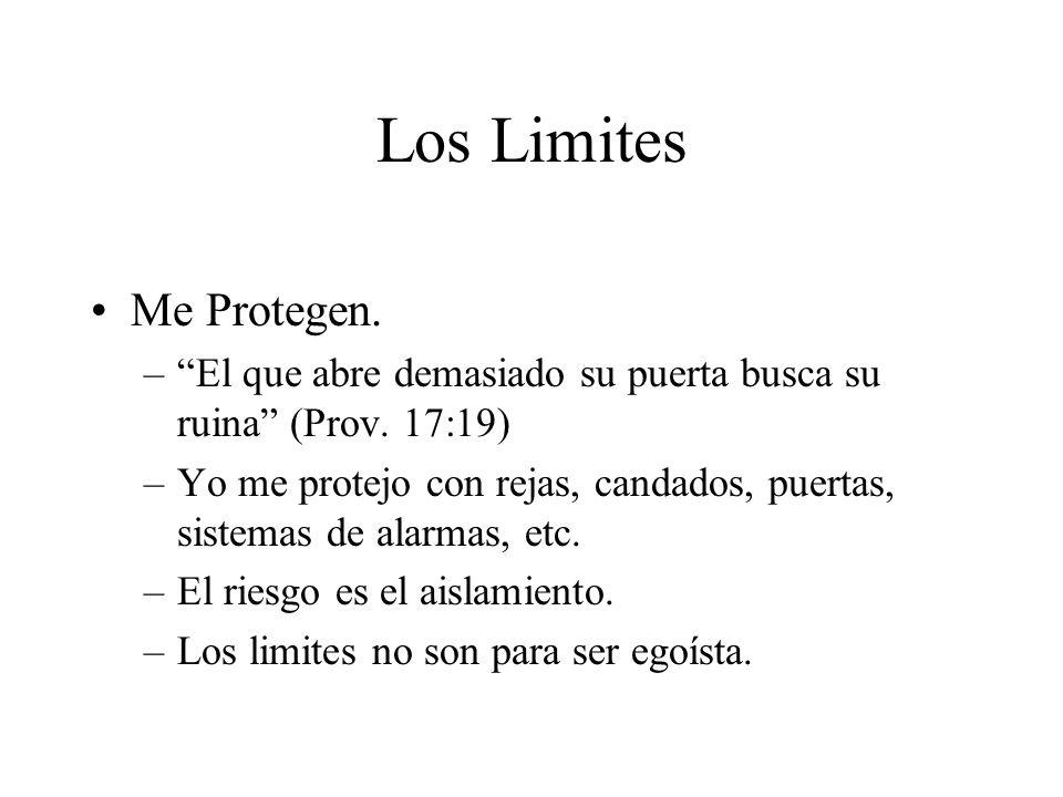 Los Limites Me Protegen.