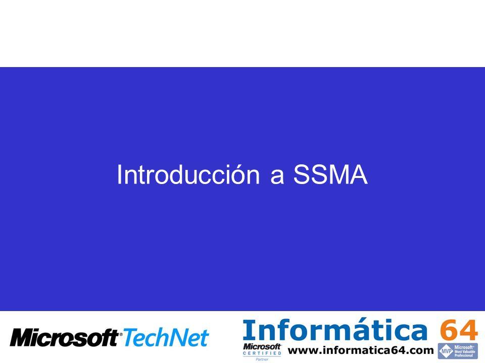 Introducción a SSMA