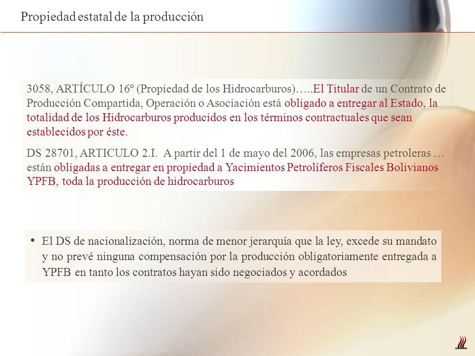 Propiedad estatal de la producción