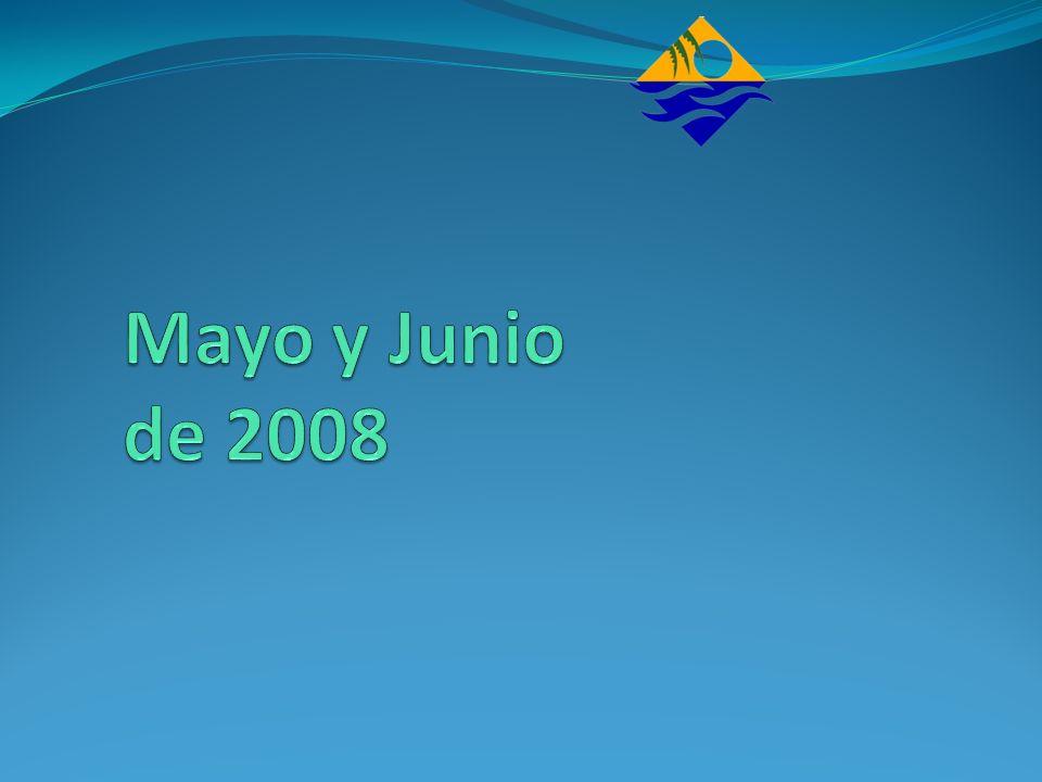 Mayo y Junio de 2008