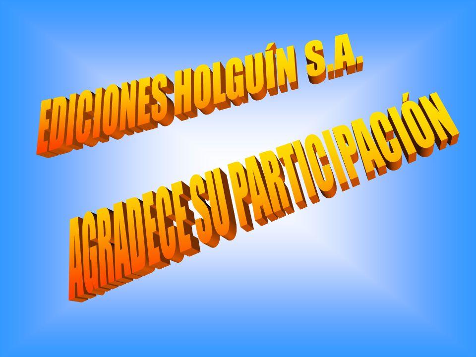 AGRADECE SU PARTICIPACIÓN