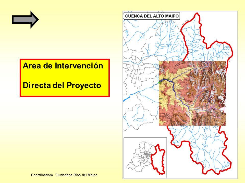 Area de Intervención Directa del Proyecto