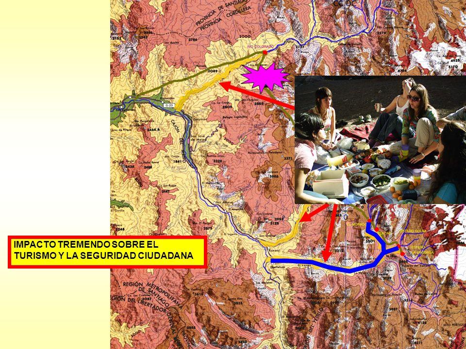 IMPACTO TREMENDO SOBRE EL TURISMO Y LA SEGURIDAD CIUDADANA